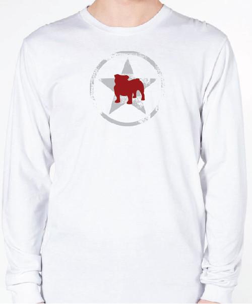 Unisex AllStar Bulldog Long Sleeve T-Shirt