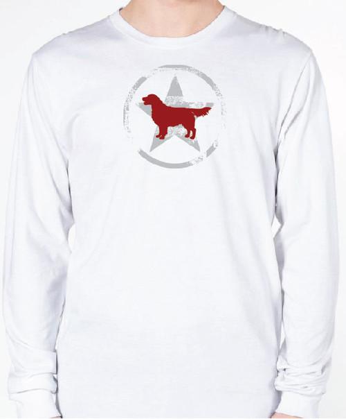 Unisex AllStar Golden Retriever Long Sleeve T-Shirt