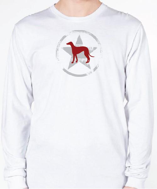 Unisex AllStar Greyhound Long Sleeve T-Shirt