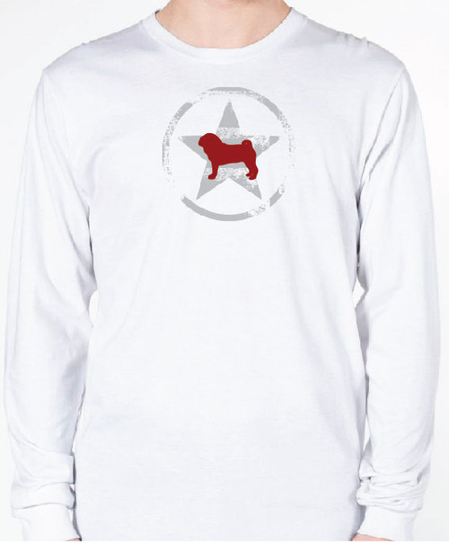 Unisex AllStar Pug Long Sleeve T-Shirt
