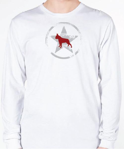 Unisex AllStar Boston Terrier Long Sleeve T-Shirt