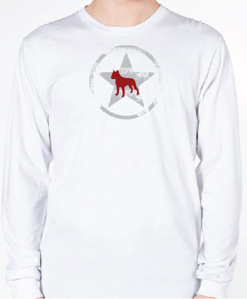 Unisex AllStar Staffordshire Terrier Long Sleeve T-Shirt