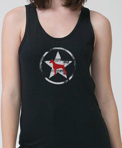 Unisex AllStar Doberman Tank Top