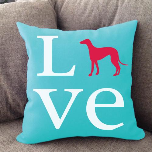 Greyhound Love Pillow