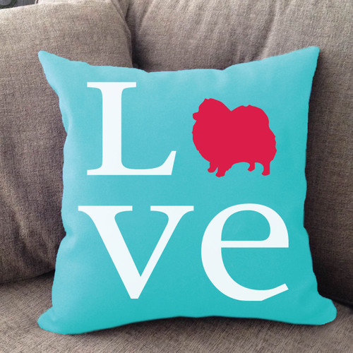 Pomeranian Love Pillow