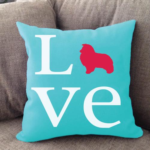 Shetland Sheepdog Love Pillow