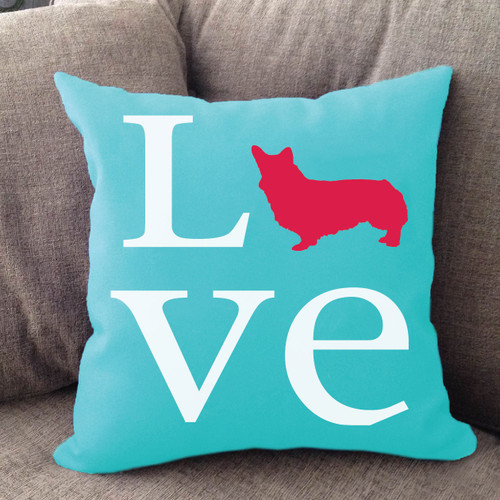 Pembroke Welsh Corgi Love Pillow