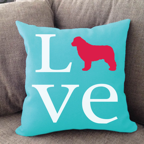 Newfoundland Love Pillow