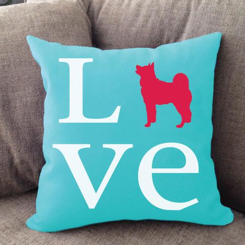 Akita Love Pillow