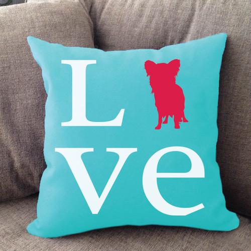 Papillon Love Pillow