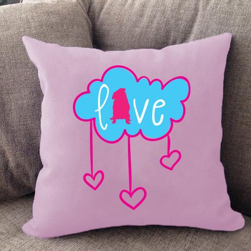 Pug Cloud Pillow