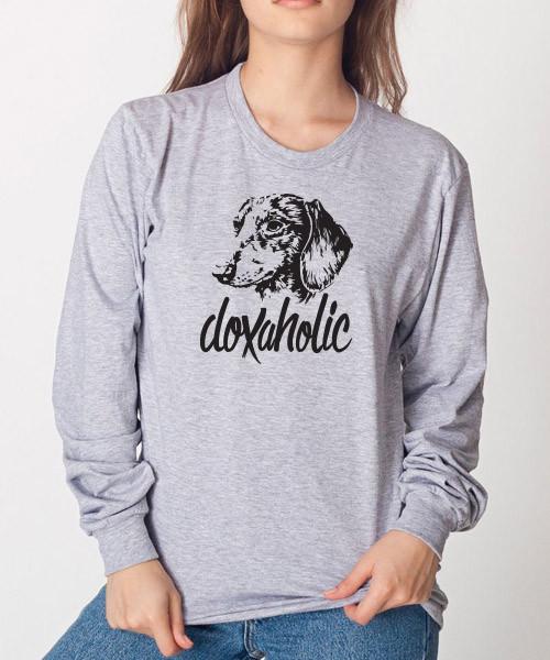 Doxaholic Unisex Long Sleeve T-Shirt