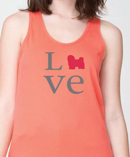 Unisex Love Havanese Tank Top
