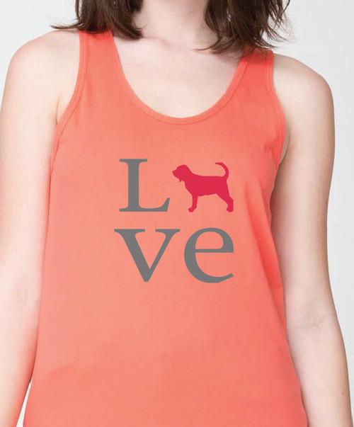 Unisex Love Bloodhound Tank Top