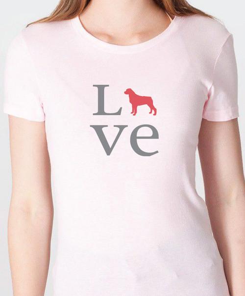 Unisex Love Rottweiler T-Shirt