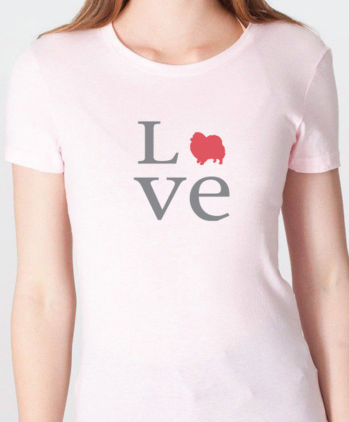 Unisex Love Pomeranian T-Shirt