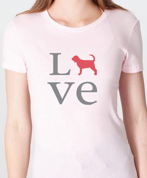 Unisex Love Bloodhound T-Shirt