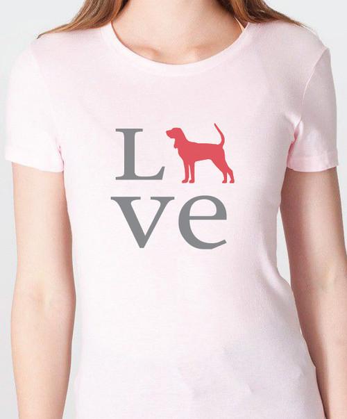 Unisex Love Coonhound T-Shirt