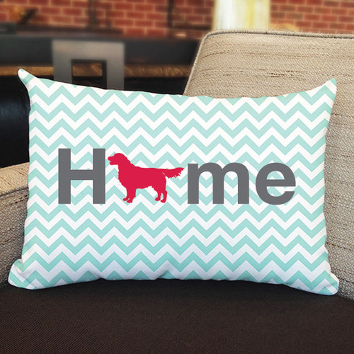 Righteous Hound - Home Golden Retriever Pillow