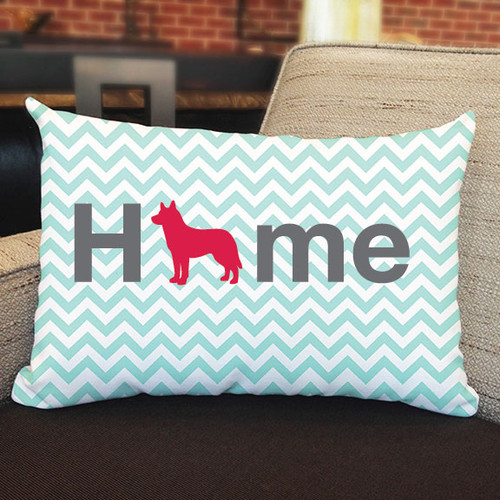 Righteous Hound - Home Husky Pillow