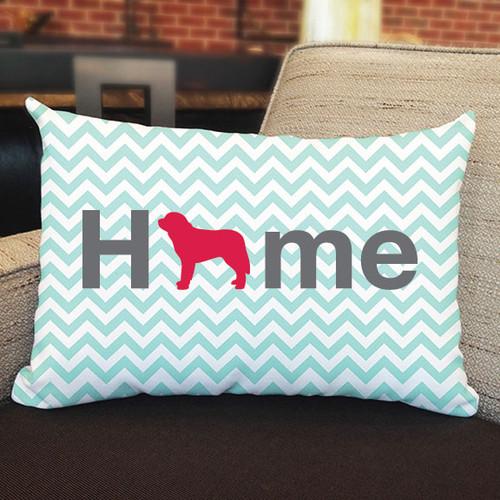 Righteous Hound - Home Saint Bernard Pillow