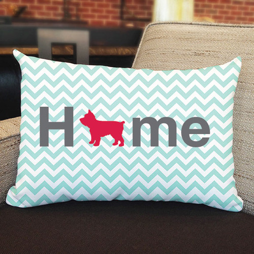 Righteous Hound - Home Yorkie Pillow