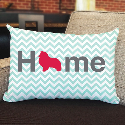 Righteous Hound - Home Shetland Sheepdog Pillow