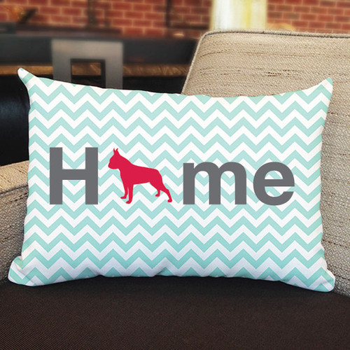 Righteous Hound - Home Boston Terrier Pillow