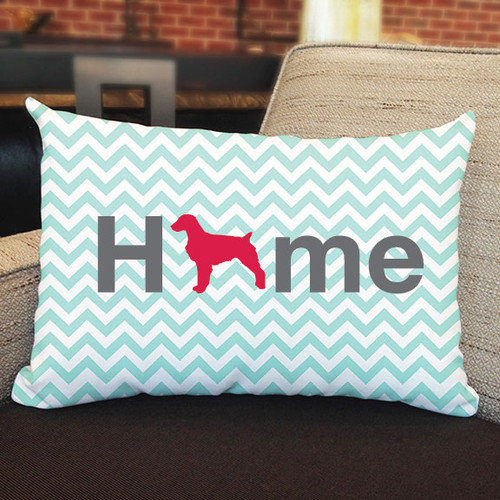 Righteous Hound - Home Brittany Pillow