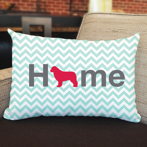 Righteous Hound - Home Newfoundland Pillow