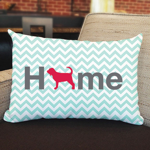 Righteous Hound - Home Bloodhound Pillow