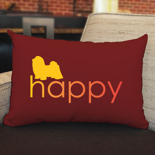 Righteous Hound - Happy Shih Tzu Pillow