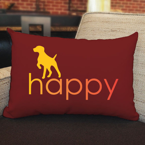 Righteous Hound - Happy German Shorthaired Pointer Pillow