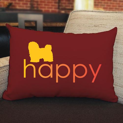 Righteous Hound - Happy Havanese Pillow