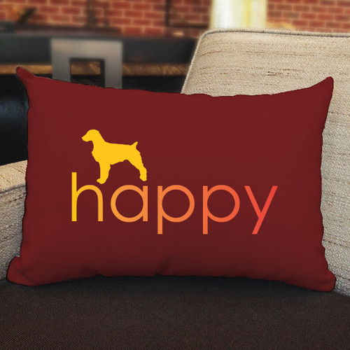 Righteous Hound - Happy Brittany Pillow