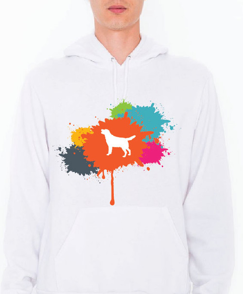 Unisex Splatter Lab Hoodie