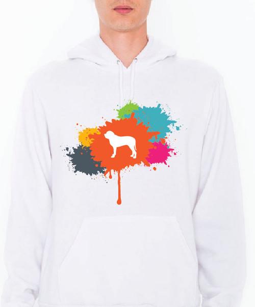 Unisex Splatter Mastiff Hoodie
