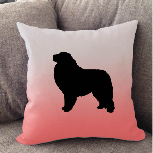 Righteous Hound - White Ombre Great Pyrenees Pillow