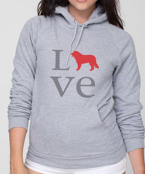 Bernese Mountain Dog Love Hoodie