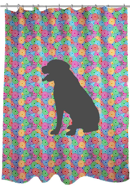 Righteous Hound - Circle Rottweiler Shower Curtain