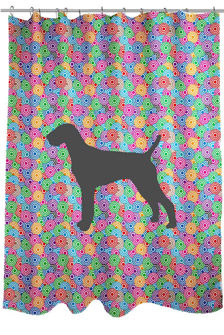 Righteous Hound - Circle Vizsla Shower Curtain