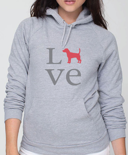 Righteous Hound - Unisex Love Beagle Hoodie