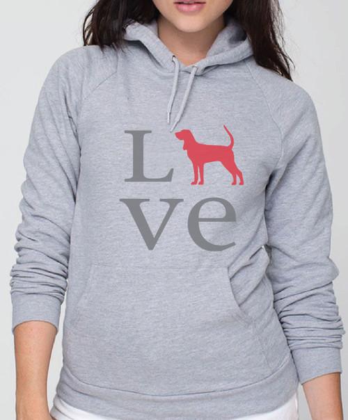 Righteous Hound - Unisex Love Coonhound Hoodie