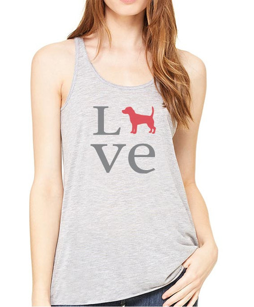 Righteous Hound - Flowy Love Beagle Tank