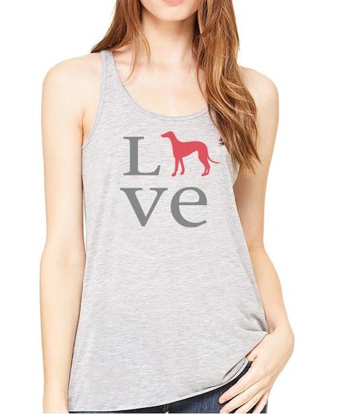 Righteous Hound - Flowy Love Greyhound Tank