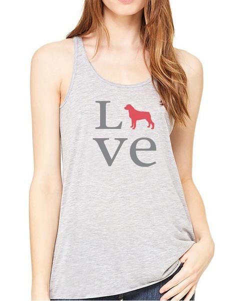 Righteous Hound - Flowy Love Rottweiler Tank