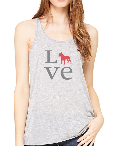 Righteous Hound - Flowy Love Staffordshire Terrier Tank