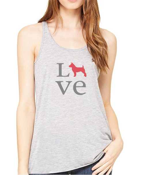 Righteous Hound - Flowy Love Jack Russell Tank