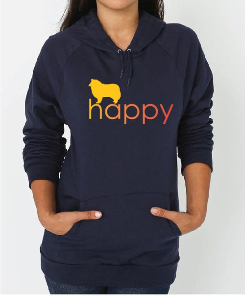 Righteous Hound - Unisex Happy Collie Hoodie
