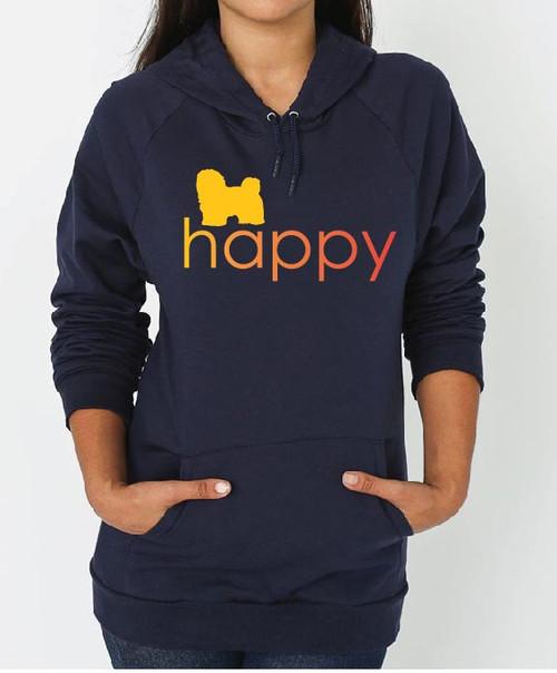 Righteous Hound - Unisex Happy Havanese Hoodie